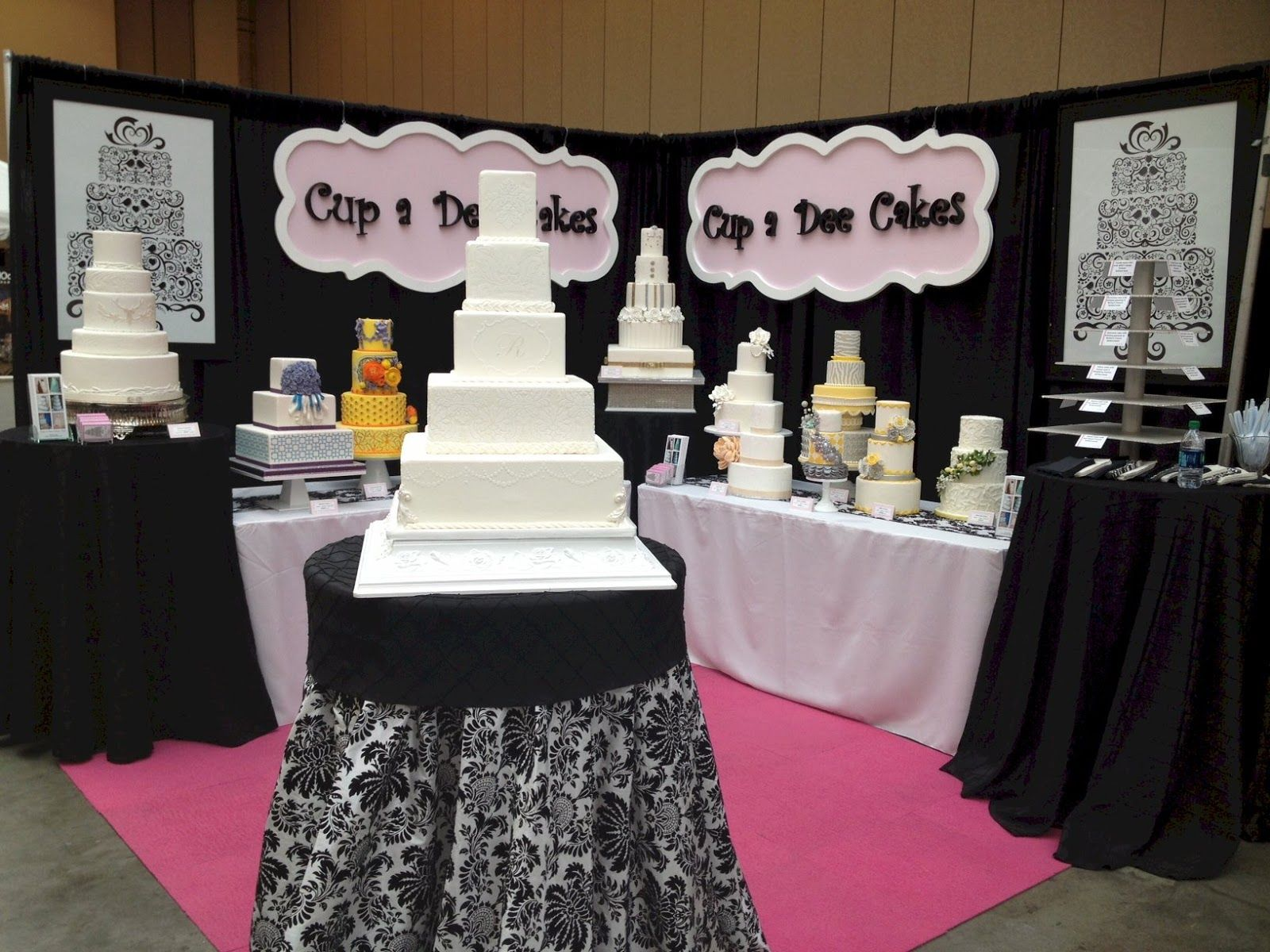 wedding cake bridal expo bridal show cake booth bridal show booths revisited 22083