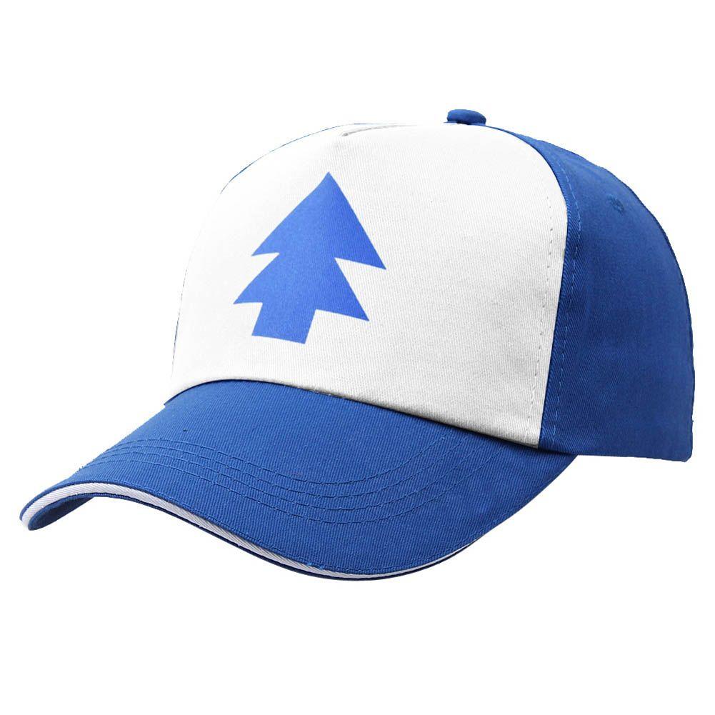 5c468e1e613f0 Encontrar Más Sombreros y Gorras Información acerca de Muchachas del  muchacho sombreros snapback de dibujos animados gorras de camionero de pino  azul nuevo ...