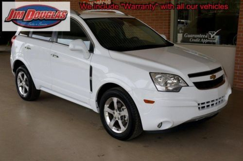 2013 Chevy Captiva Lt White 25k Miles Like New Chevy