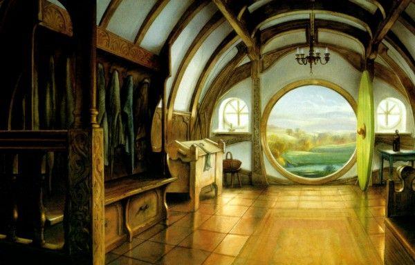 Round doorsteps, round windows