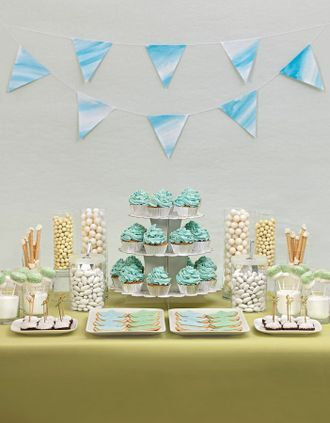 Dessert Table Konzept: Ozeanblau - Candy Bars und Dessert Tables