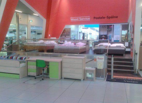 Postele a spálne Trenčín - OC Laugaricio