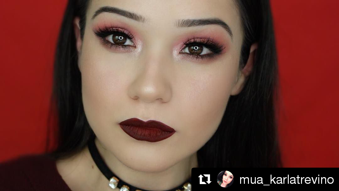 @mua_karlatrevino uses our Tanned RAWR-Matte Bronzer in Bali Matte (BZ1799), Brow Pomade in Espresso (EBK2317),  SKINgerie silky color corrector in Orange (2594), and SKINgerie sexy coverage concealer in Procelain (2598) to create this date makeup look.  #repost #regram #kleancolor #slay #complexionperfection #mua #makeup #makeupjunkie #makeuplover #instamakeup #makeupaddict #cosmetics #beauty