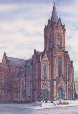 Historic Church Of St Patrick Toledo Toledo Ohio Church Architecture