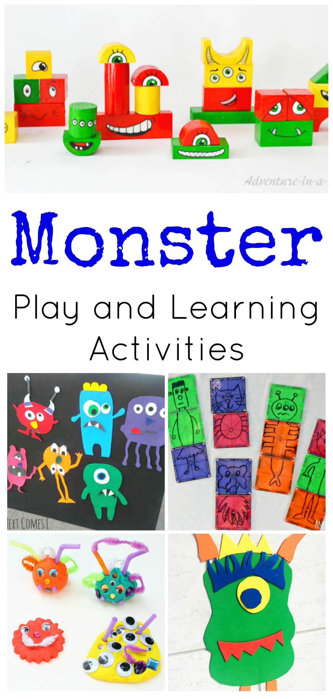 Monster Activities For Preschoolers