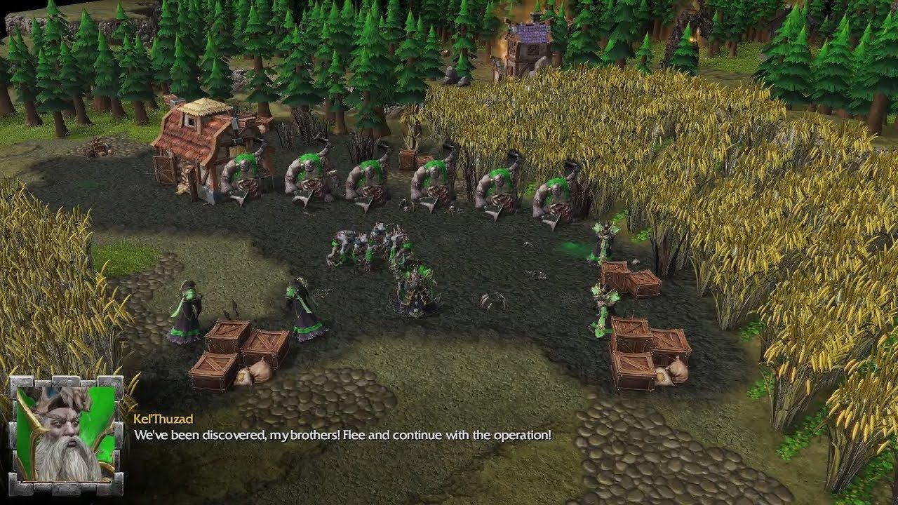 Warcraft 3 Reforged The South Of The Undead Map Human Campaign