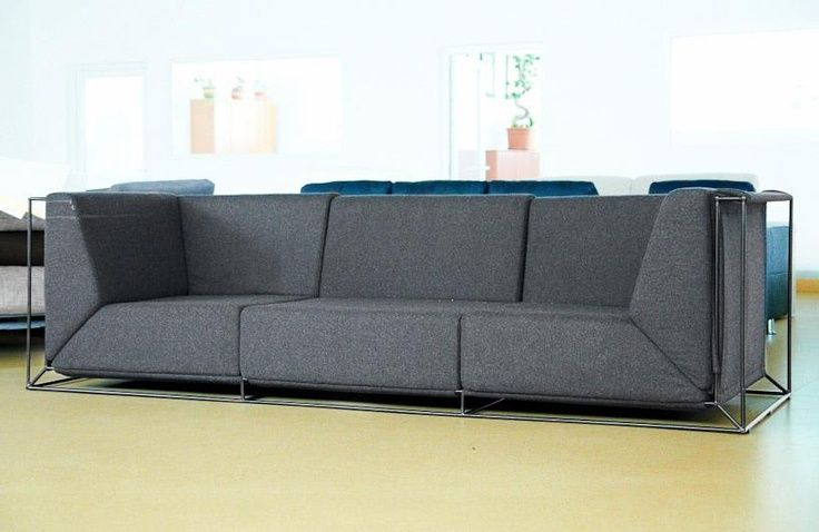 Charming Floating Sofa By Philippe Nigro Home Design Ideas