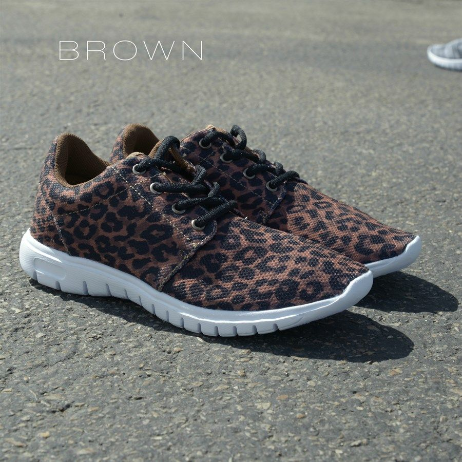 Women's Brown Leopard Print Soft Flexible Athletic Shoes | $28.99 on Jane.com | 7 styles to choose from
