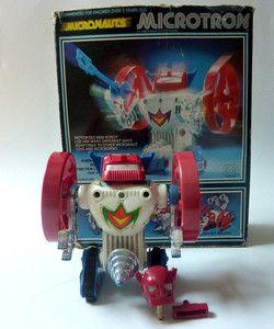 Vintage Mego Micronauts Microtron In Original Box Microman Takara