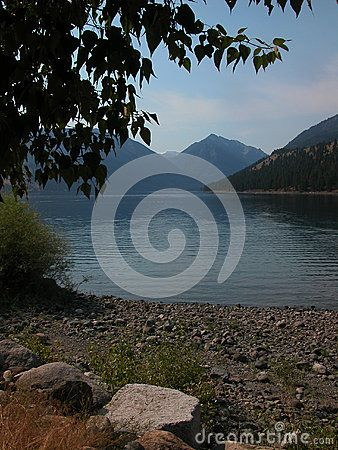 Wallowa Lake is located in eastern Oregon. ©Photo copyright by Marty Nelson. Photographer website: http://www.dreamstime.com/uploads