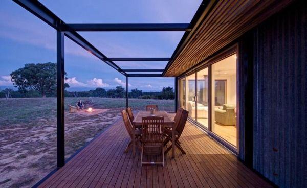 686 Sq. Ft. Modern Solar Powered Off Grid Cabin Photo