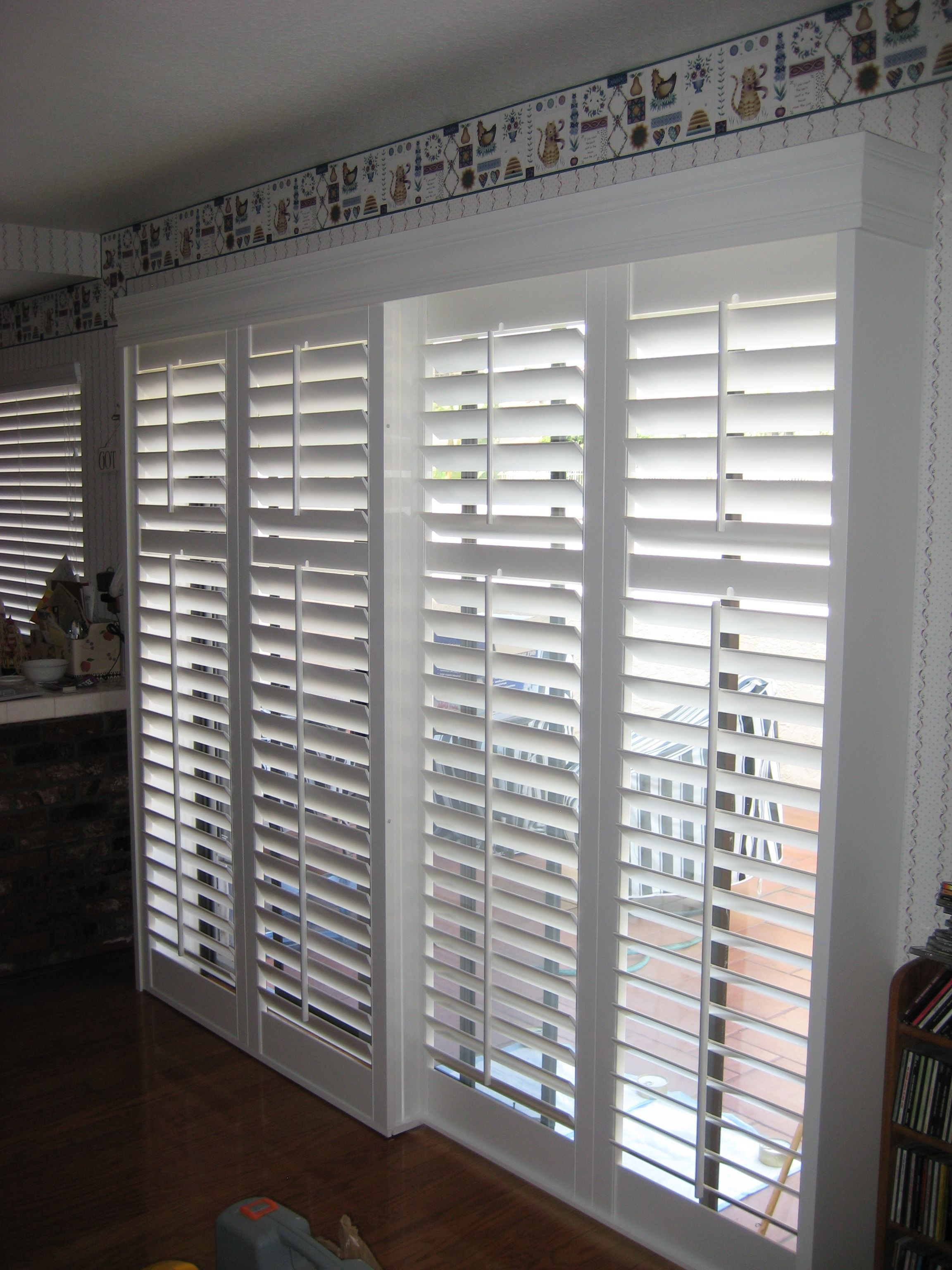 panel treatments patio new door window of blinds sliding collection photos glass for doors awesome