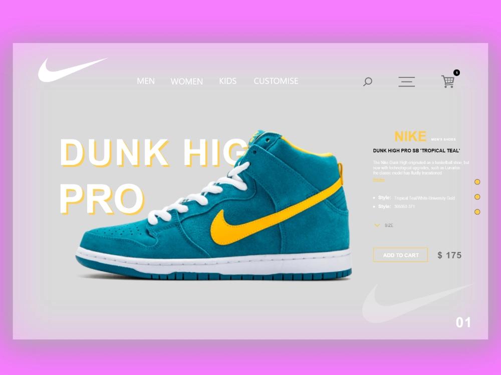 reporte Novia A nueve  Nike Web Design Concept in 2020 | Nike web, Nike, Concept design