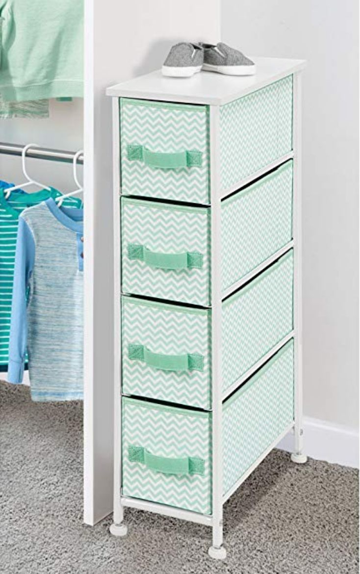 Organize a narrow corner of your closet with this vertical upright ...