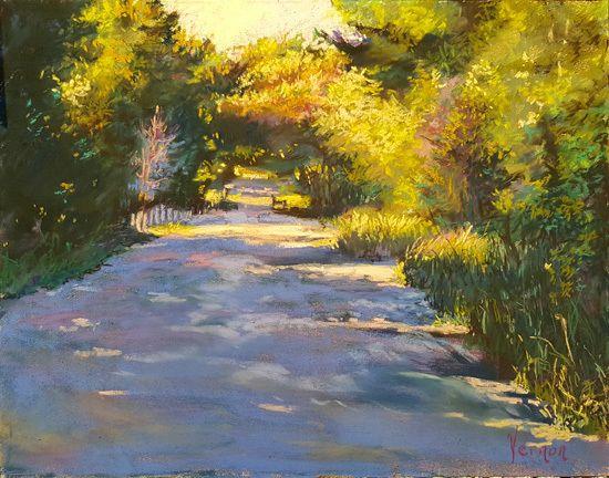 Journey Into Spring I Artist Karen Vernon By Art For