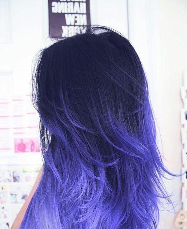 außergewöhnliche originelle Haarfrisur