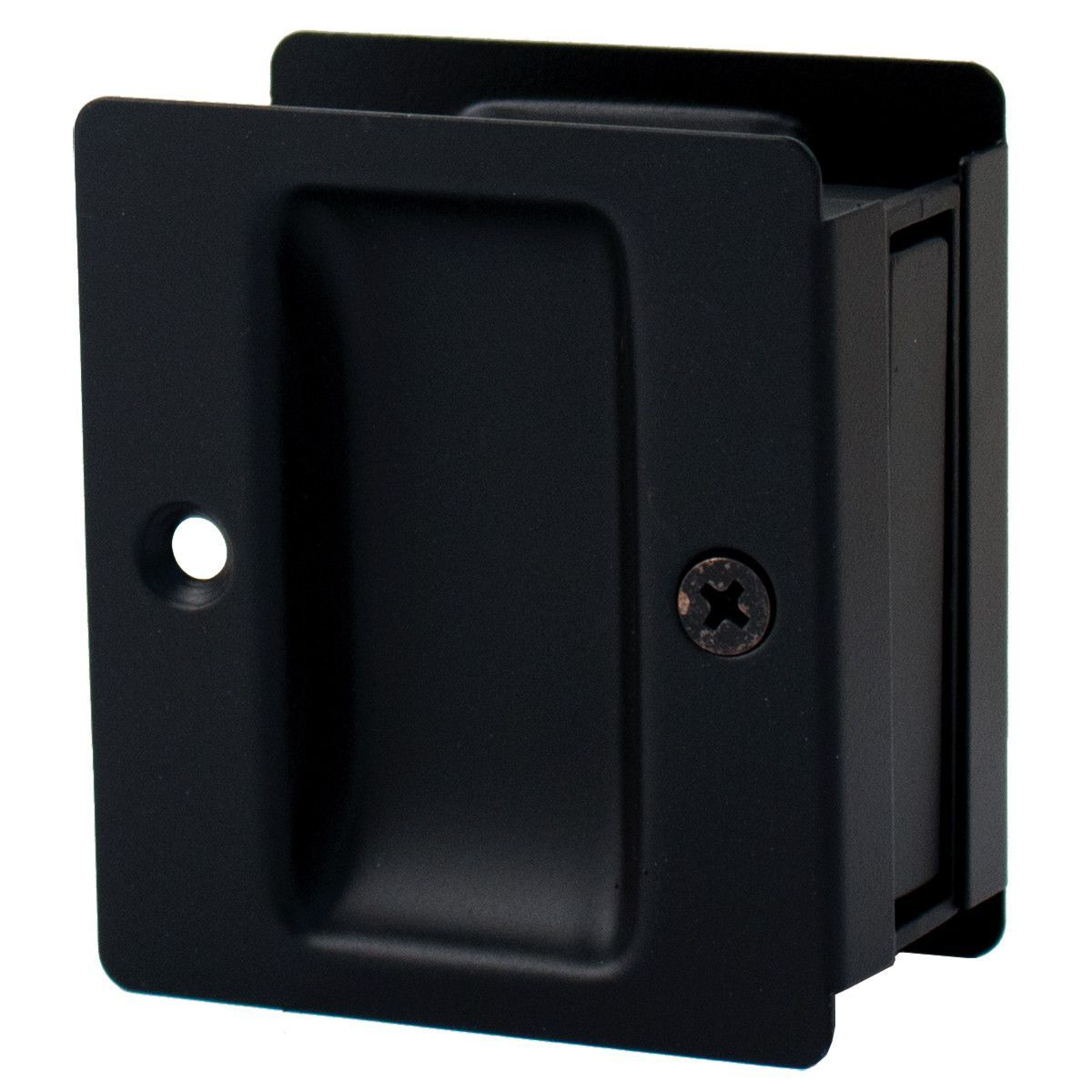 Hallway closet door  Premium Square Pocket Door Lock HallCloset Latch  Home build