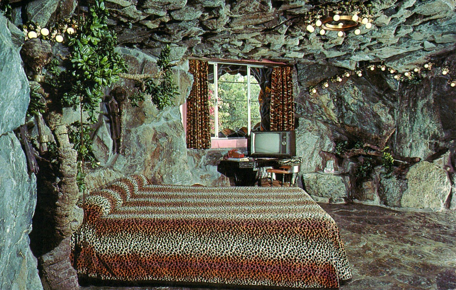Cave Man Room 137 At The Madonna Inn San Luis Obispo California