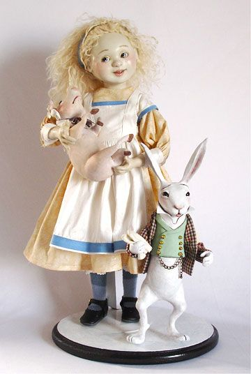 Nursery Alice With Pig And Rabbit