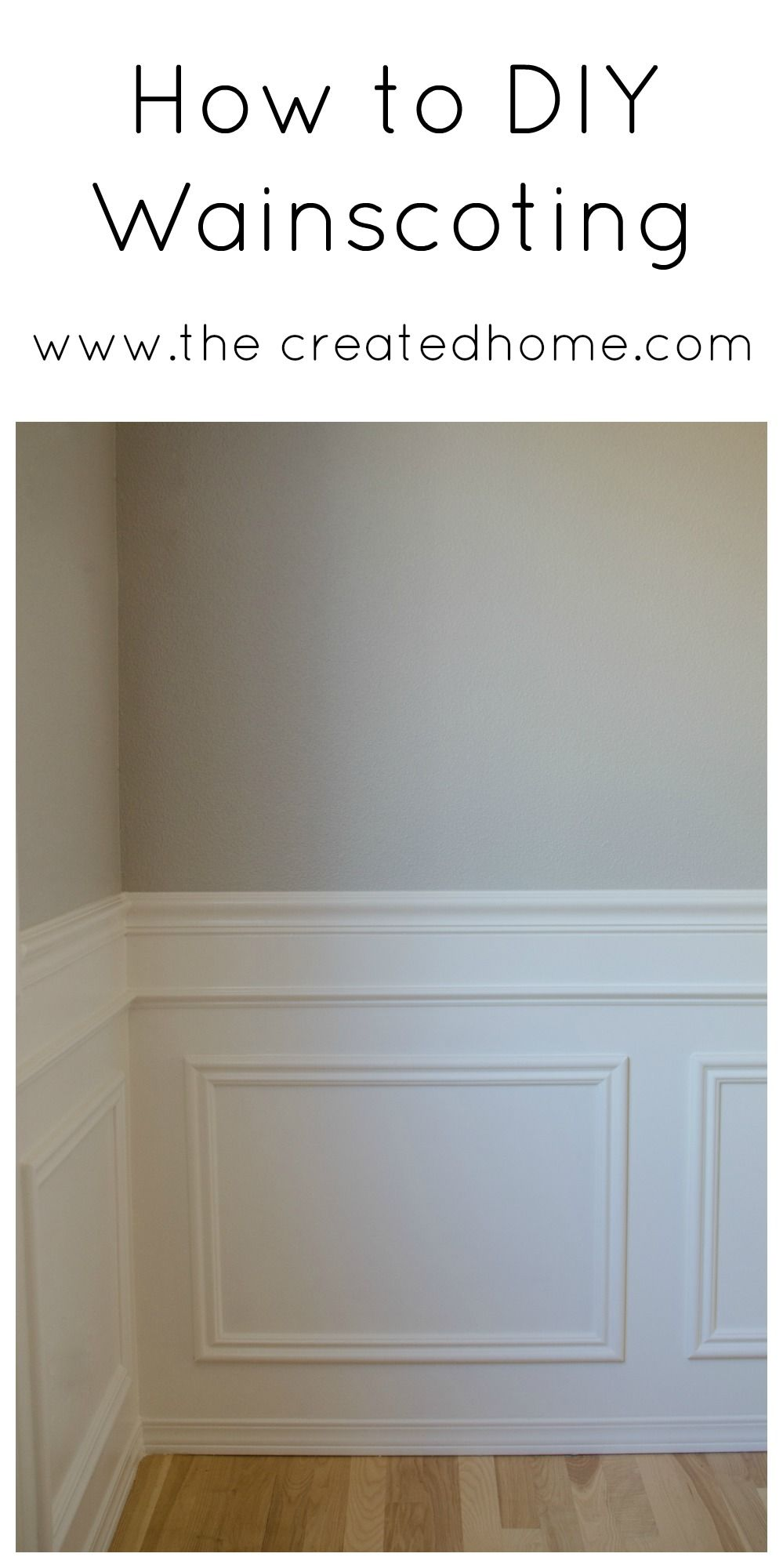 easy wainscoting panels
