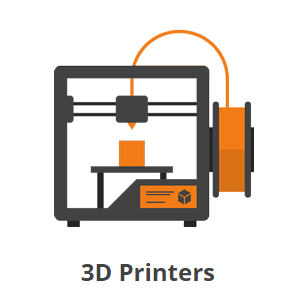 Homepage Icons_3D Printers Printer, 3d printing, 3d printer