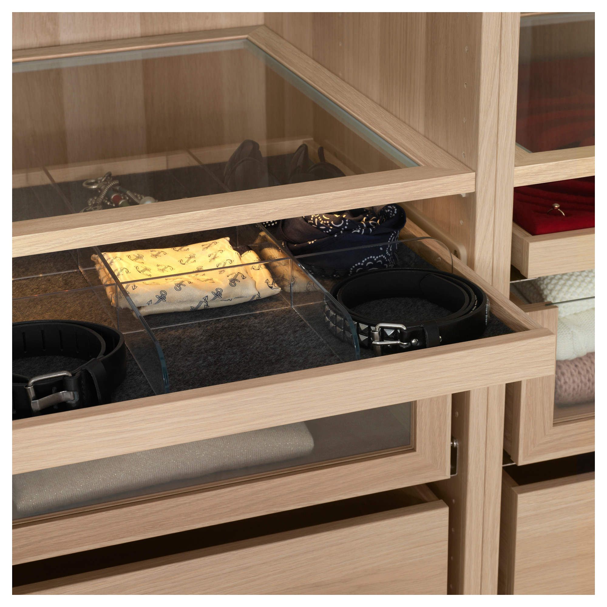Komplement Pull Out Tray With Divider 100x58 Cm Ikea Ikea