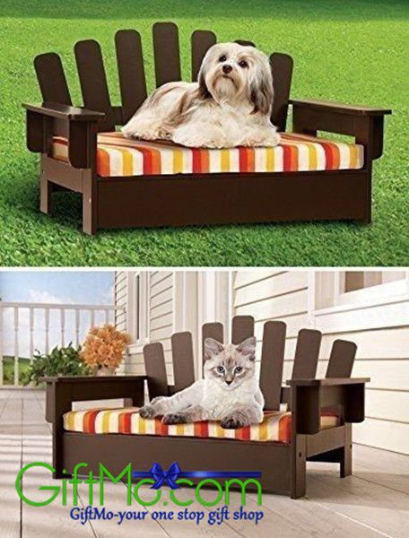 Super Pet Chair Wooden Cat Sofa Dog Couch Porch Bed Indoor Outdoor Interior Design Ideas Tzicisoteloinfo