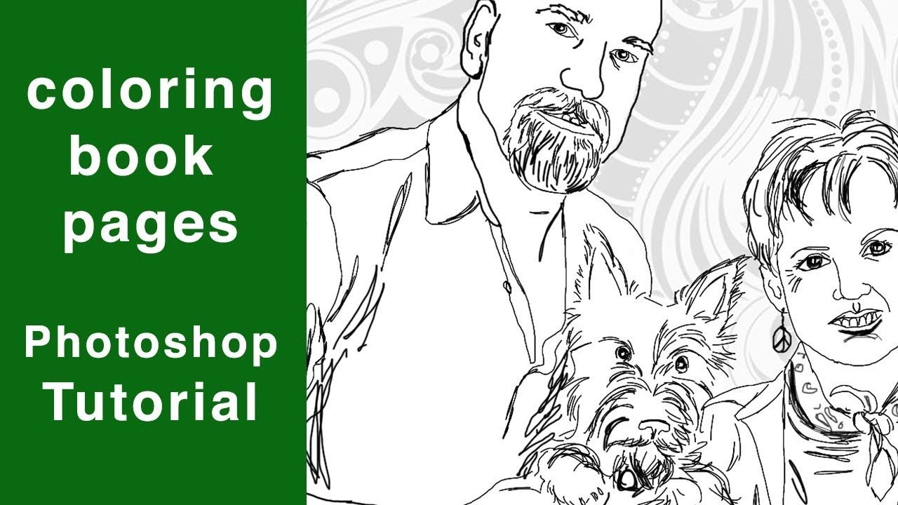 97 Top How To Make Coloring Book Pages In Photoshop Images Pictures In Hd Gambar