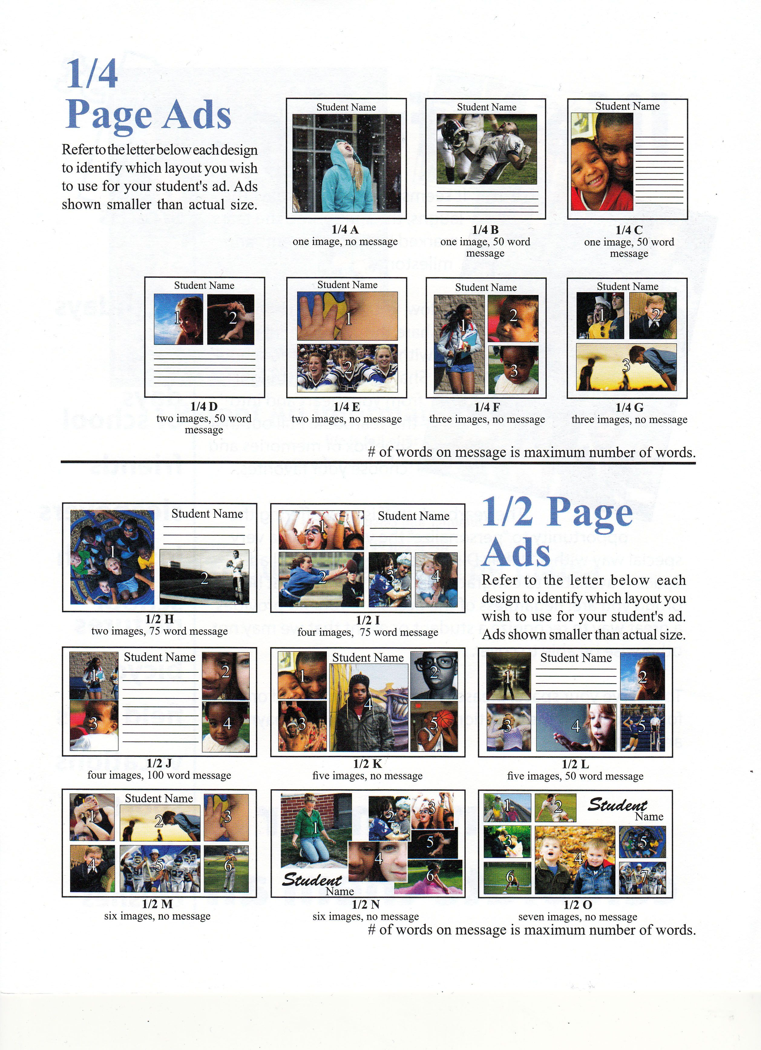 word page layout templates