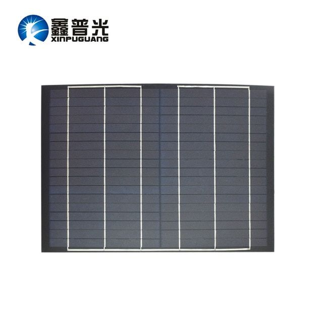 Xinpuguang 10w Solar Panel 18v Mini Pet Polycrystalline Pv Module Cell Charge For 12v Battery Light Beautiful Solar Panels Solar Energy Panels Mini Solar Panel