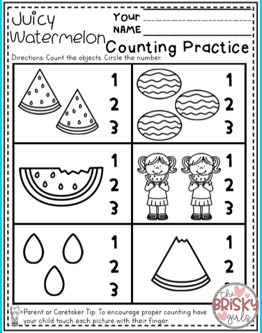 Preschool Summer Packet Distance Learning Take Home Packet ...