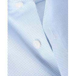 Olymp Luxor Hemd Blau Karo Comfort Fit Olympolymp #Fitness design Karohemden für Herren