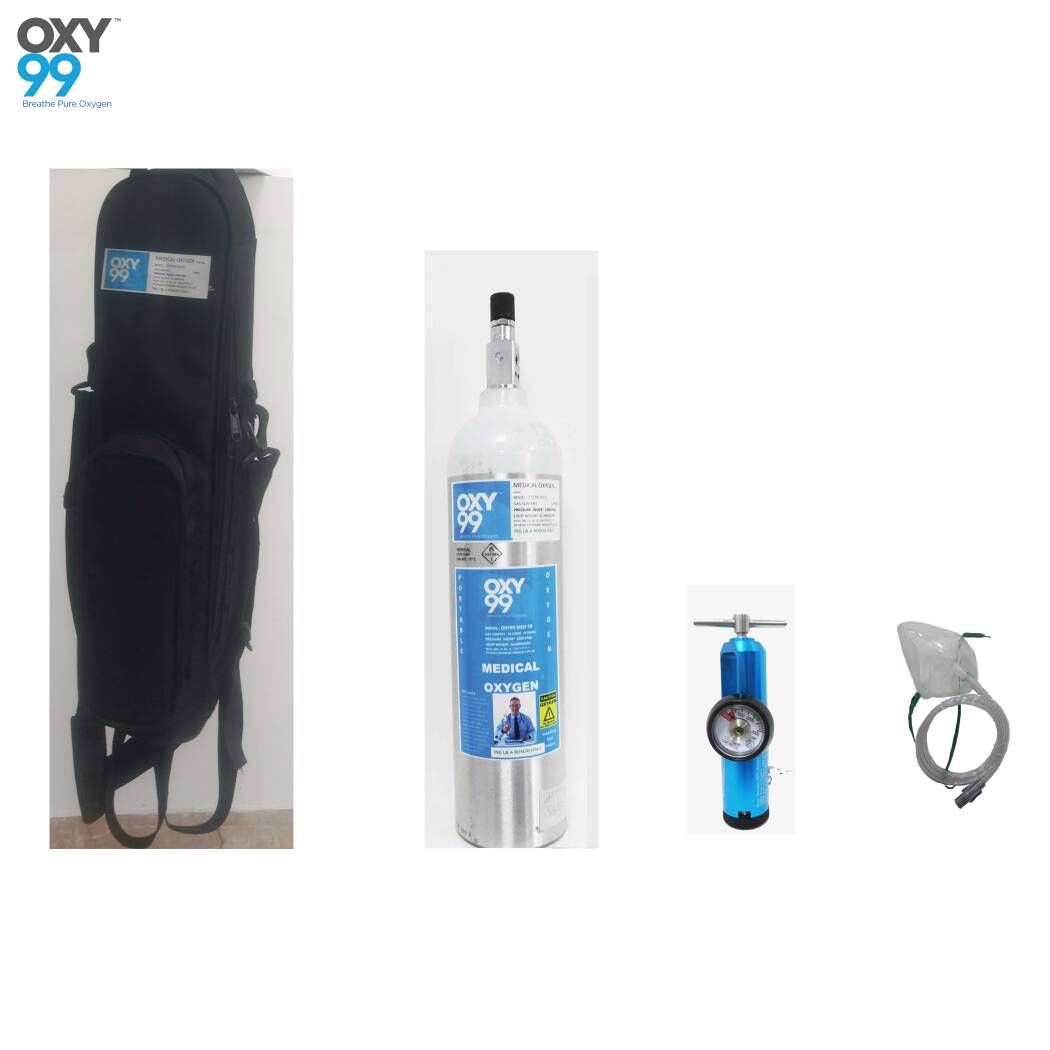 Oxy99 medical oxygen cylinders will immediately result in