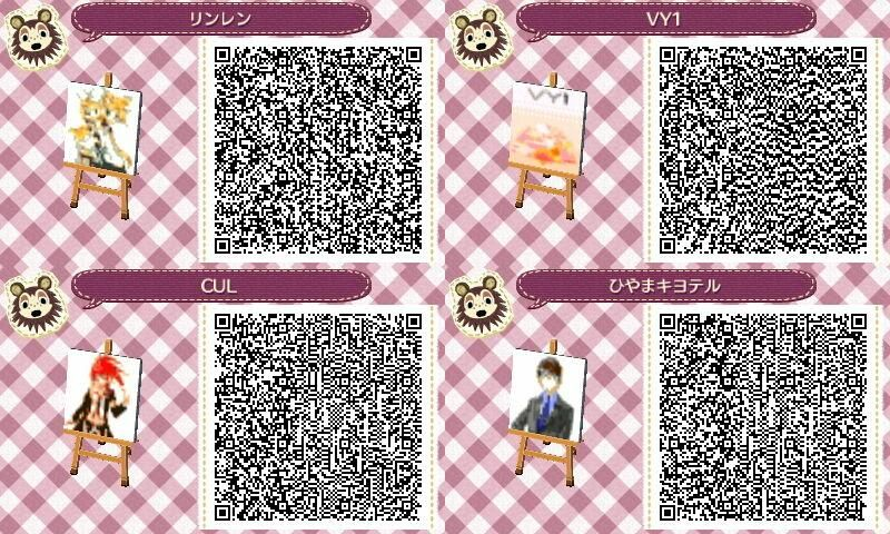 Vocaloid Animal Crossing Pinterest Motifs Codes Qr Et Feuilles