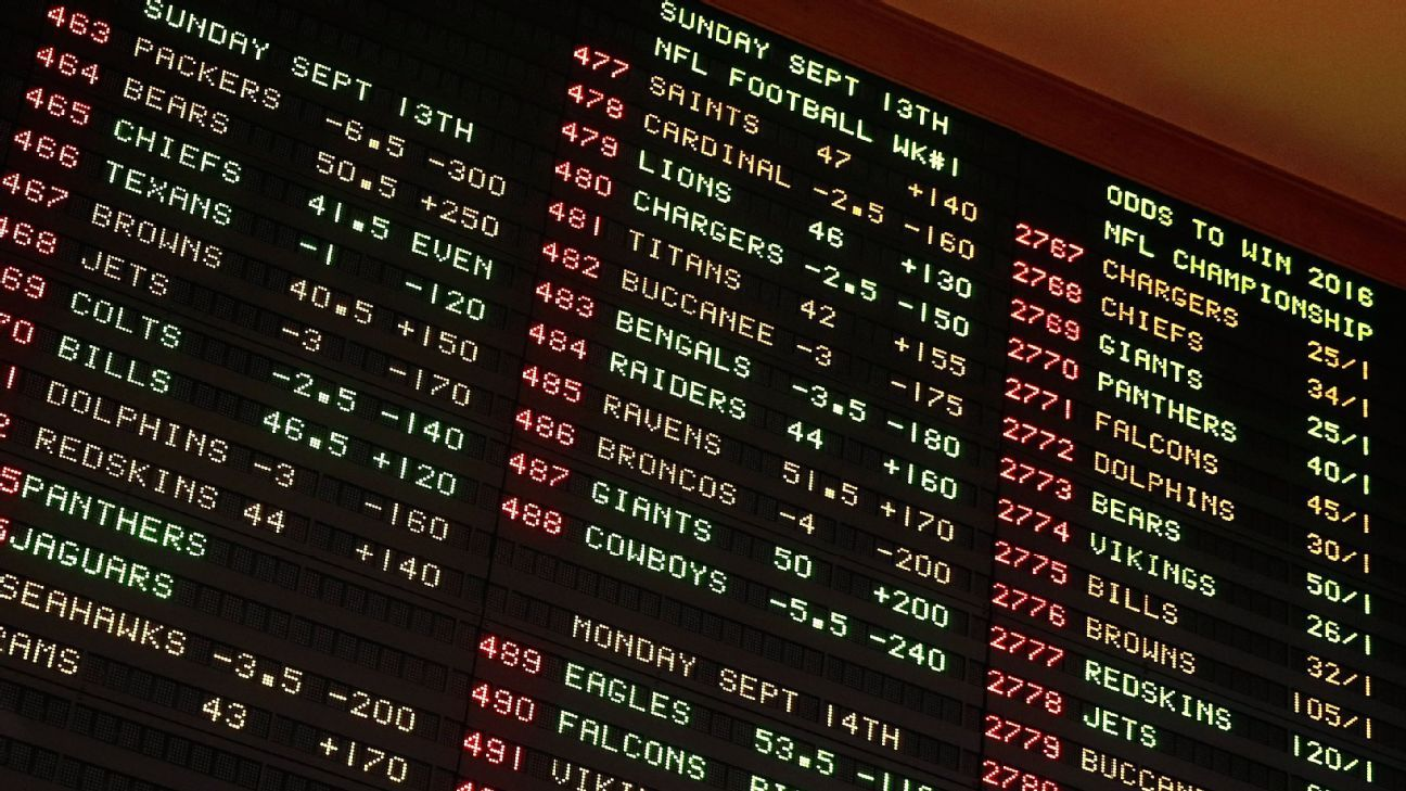 Congress to review sports betting prohibition Sports