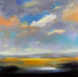Robert Séguin, Ciel et terre 4, Peinture