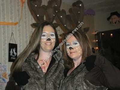 Coolest Homemade Hunter and Deer Halloween Couple Costume Idea - halloween duo ideas