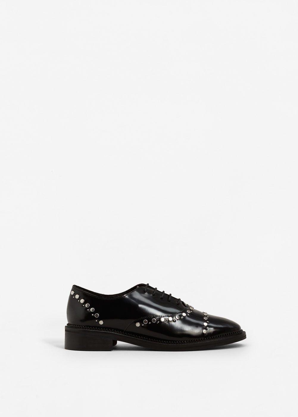 Zapato piel tachuelas - Zapatos de Mujer  1b9b7f81bf07
