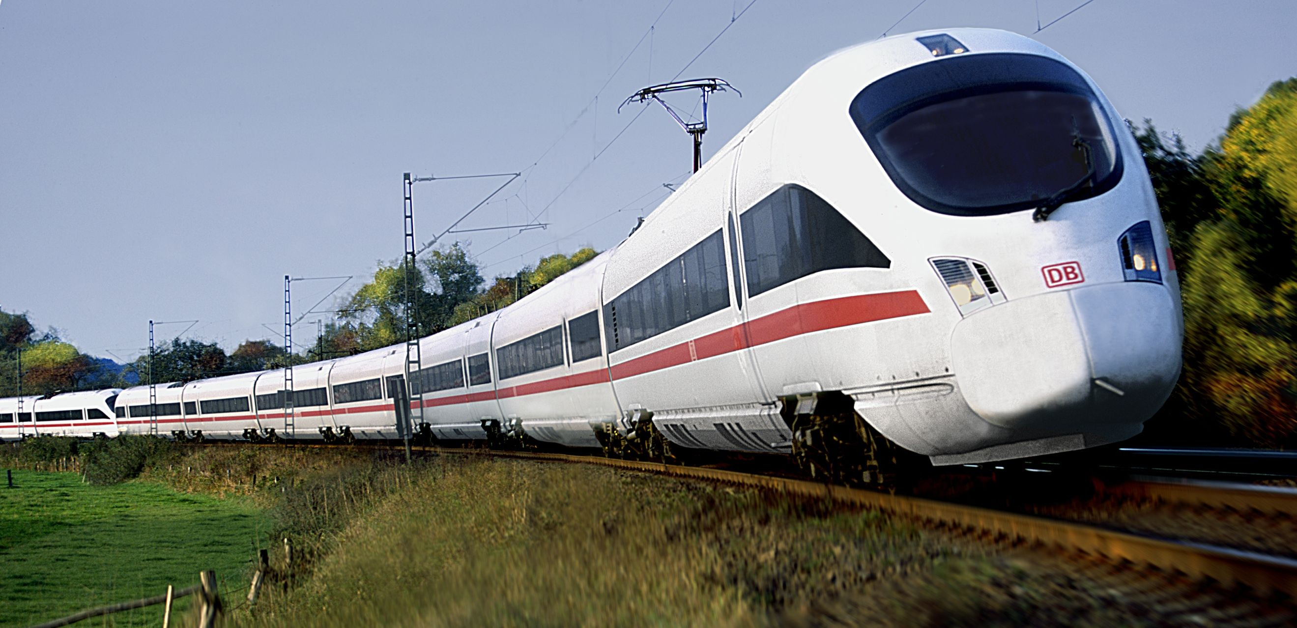ICE stands for Inter City Express the high speed