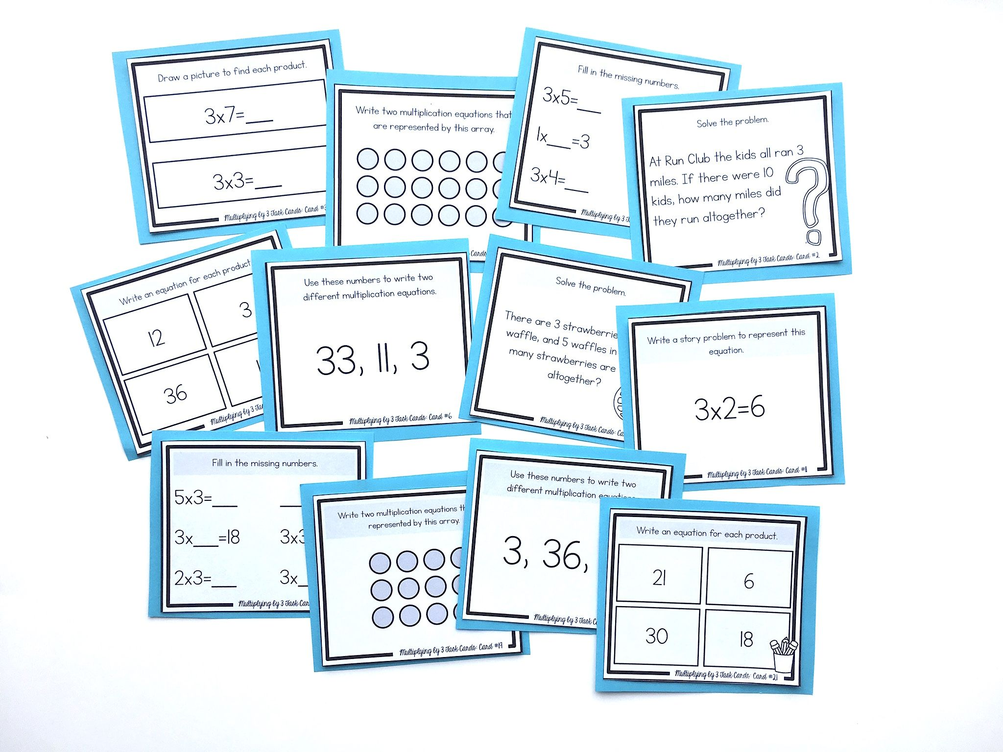 How To Teach The 3 S Multiplication Facts
