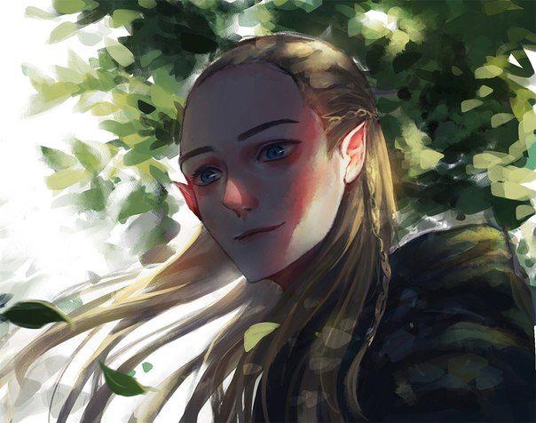 Legolas by KNK