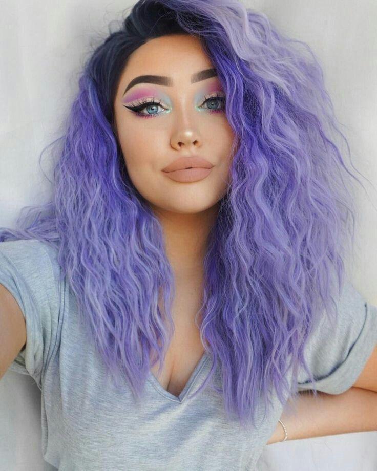 29 Stunning And Amazing Purple Highlights Ideas To Make