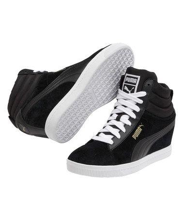 8ef3f0d7638 Black Puma Classic Wedge Sneaker by PUMA  zulilyfinds