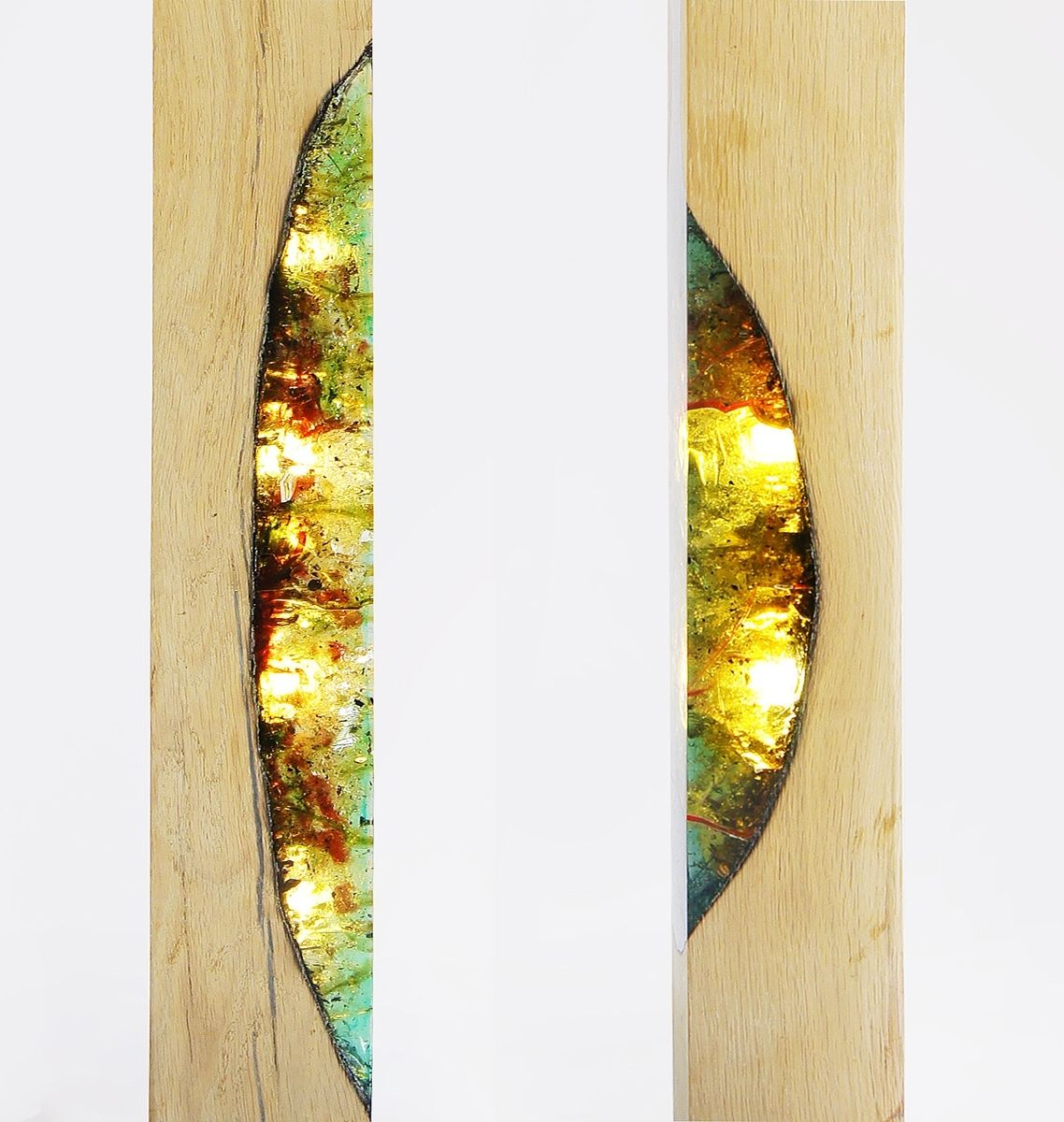 Epoxy Driftwood Table: Lumiere Collection By Eduard LocotaHis Facebook And