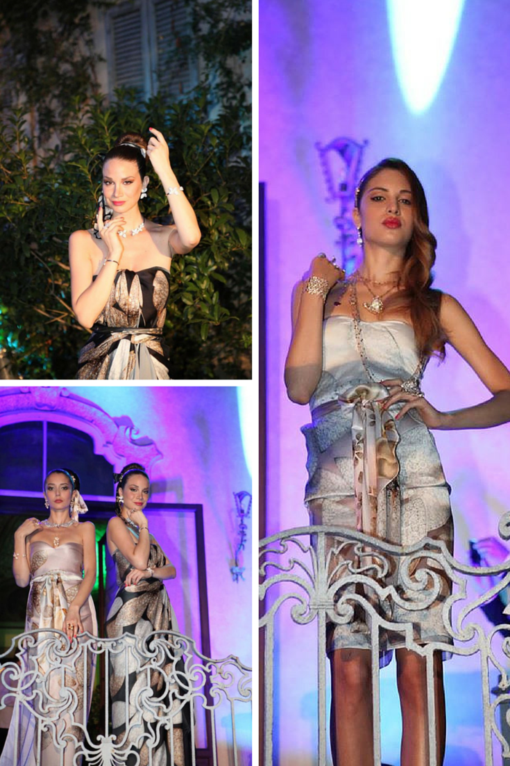18/06/2015 Italian fine jewelry designer Pasquale Bruni celebrated the launch of its Giardini Segreti (Secret Garden) collection with special guest Dita Von Teese. The line is inspired by the secret gardens of Milan #model #jewlery #fashion #Milan
