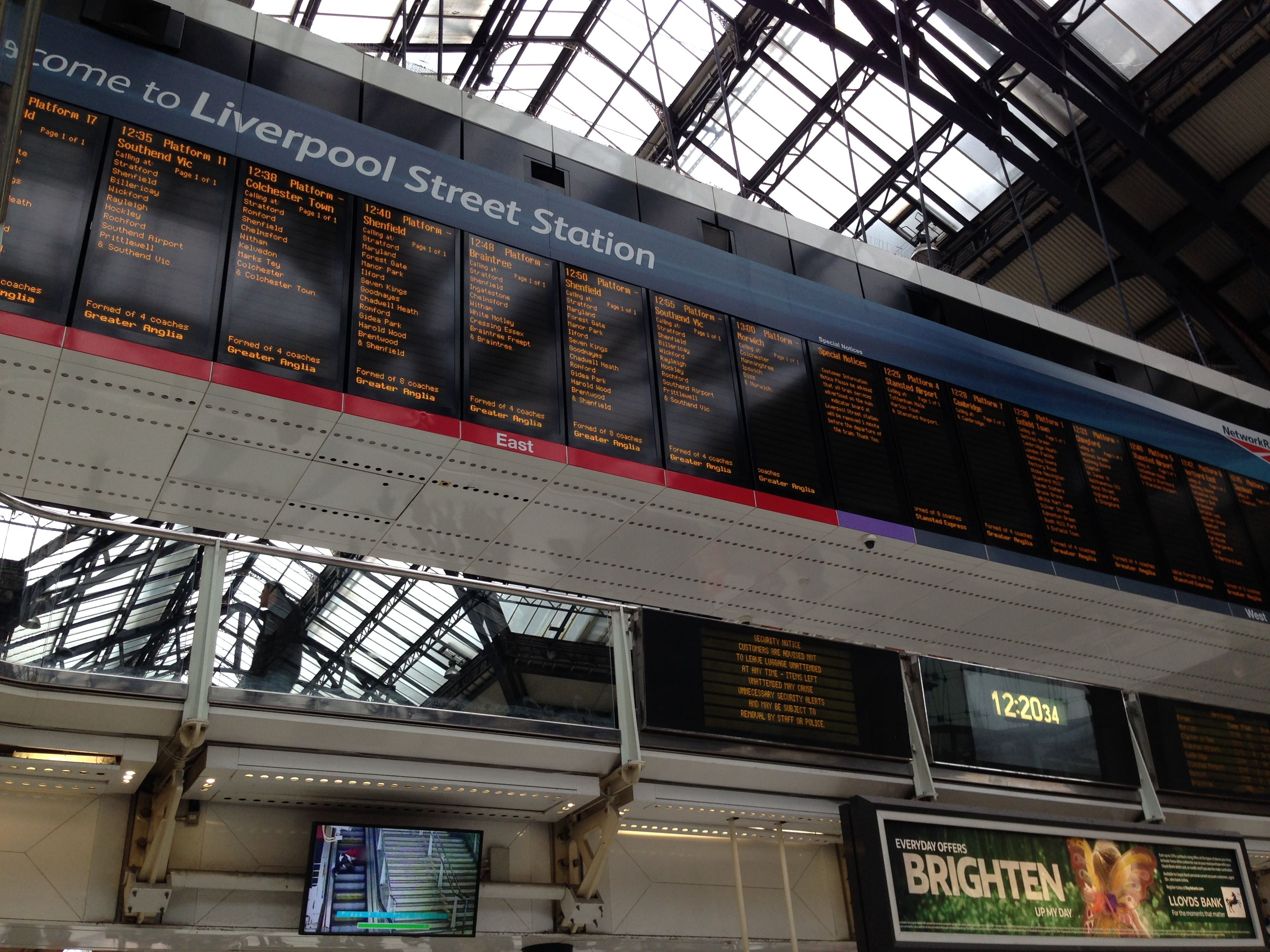 London - Liverpool Street Station