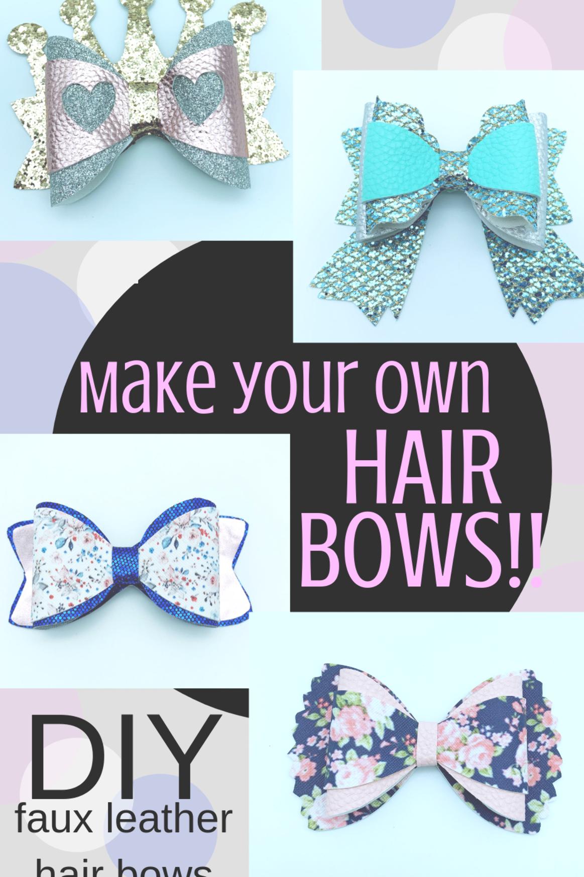Pin on hair bows