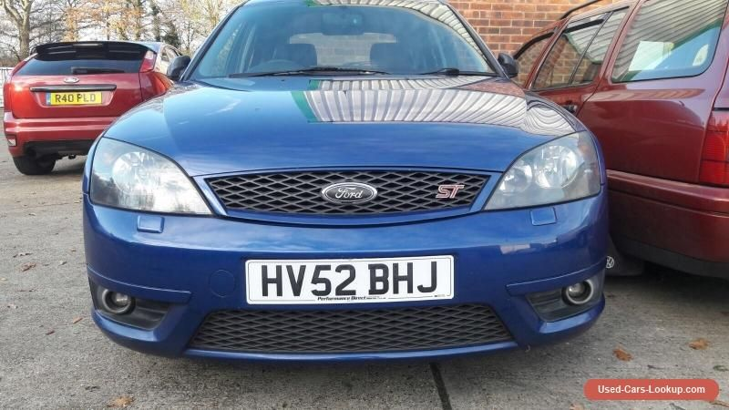 2002 Ford Mondeo St220 30 V6 Hatchback Performance Blue Future
