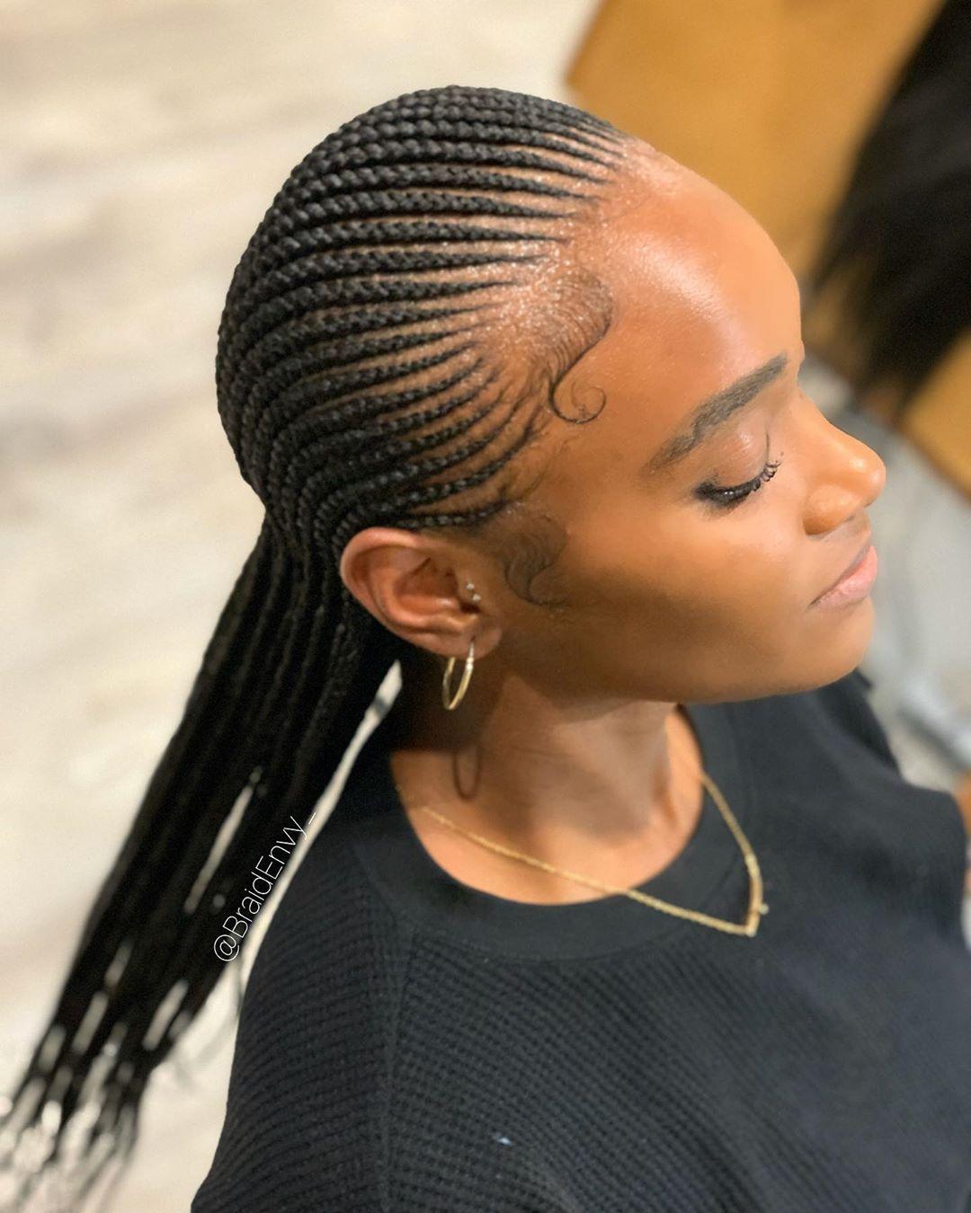 Cornrow Braids Hairstyles 2020