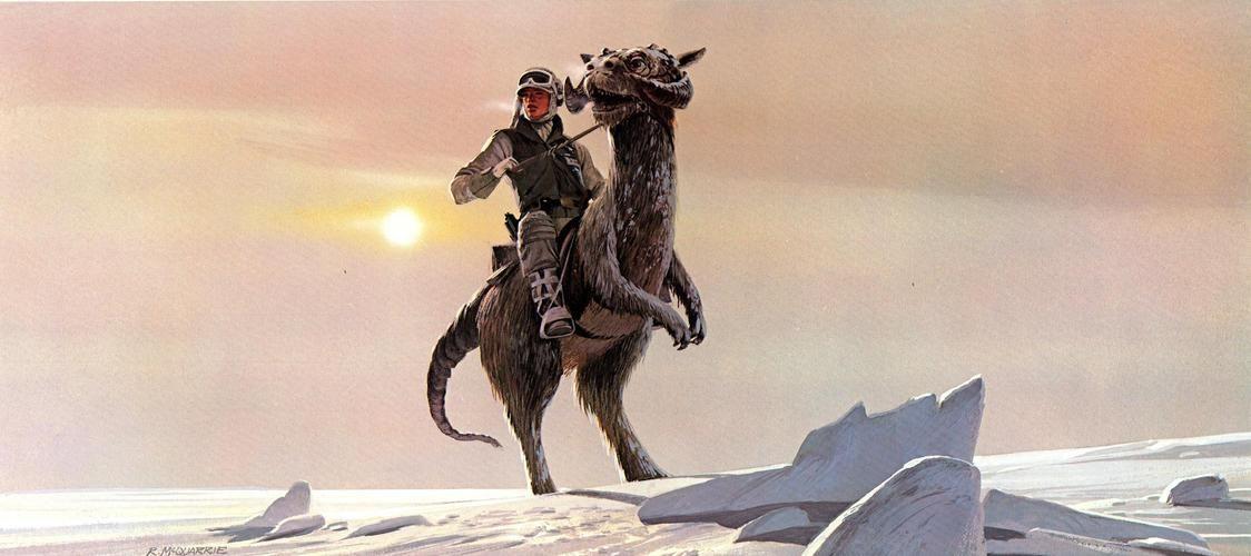 Star Wars Concept Art Ralph Mcquarrie Hoth